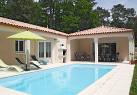 Villa with pool at Jard sur Mer