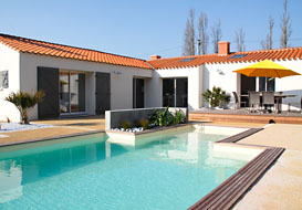 Luxury villa with pool in the Vendee