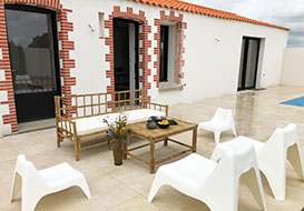 Quality villa for 8 with pool in the Vendee