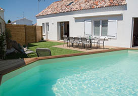 Holiday villa on the Vendee coast