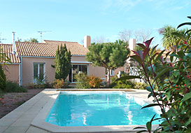 Coastal villa in Vendee for 10 people
