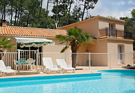 Vendee coastal villa with pool, near the beach