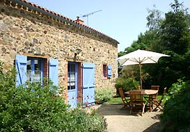 Cottage in the Vendee countryside