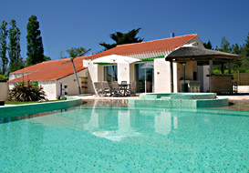 Villa in the Vendee with pool, jacuzzi and sauna
