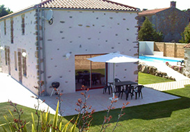 Rural 3 bedroom cottage in Vendee
