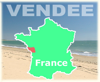 Holiday accommodation in the Vendee, on the west coast of France.