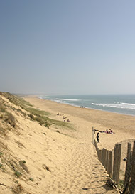 Vendee coast
