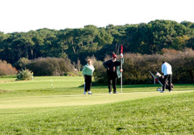18 hole golf courses in the Vendee - Bourgenay